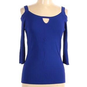 Soft Surroundings Womens Cold Shoulder Blouse XL